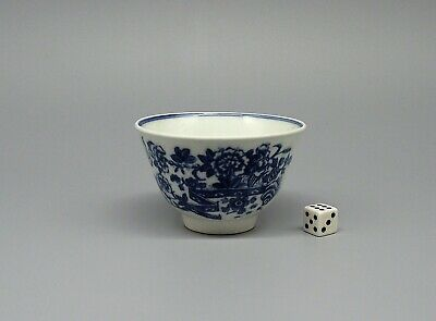 18thC Caughley Fence Pattern Porcelain Tea Bowl circa 1780