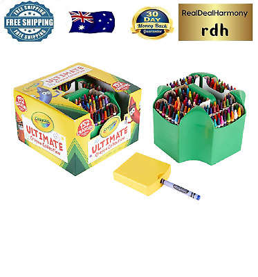 Ultimate Crayon Collection Art Tools 152 Colors Durable Storage Case