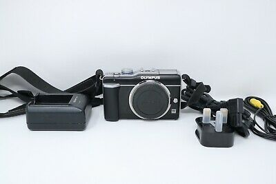 Olympus E-PL1 12.3MP Mirrorless Camera Body Only, Shutter Count 5985