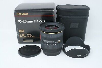 Sigma EX 10-20mm F/4.0-5.6 HSM DC AF Wide Angle Lens For Canon, Excellent Cond.
