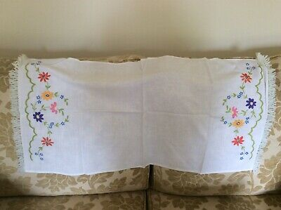 Collectable Embroidered Furniture Runner