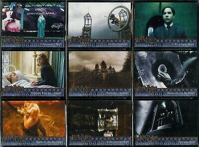 Harry Potter & The Half Blood Prince - An Artbox 2Nd Series 2009 Trade Card Set