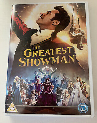 The Greatest Showman (DVD, 2017) - USED
