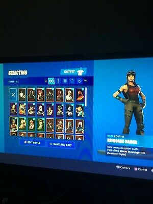 [Full Access] OG RENEGADE RAIDER STACKED ACCOUNT (RAREST SKIN) - (Read Desc)