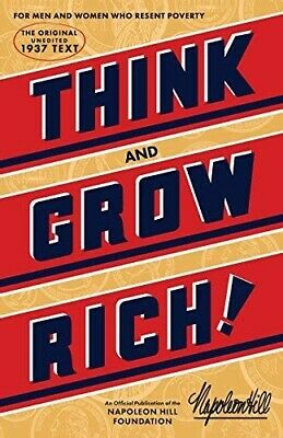 Think and Grow Rich by Napoleon Hill (hardback 1960)