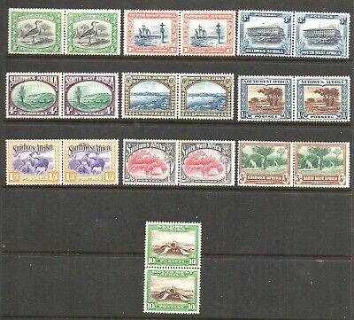 Stamps Br. Commonwealth - SW Africa - KGV 1931 10 Se-Tenant Values - (20v) M/M