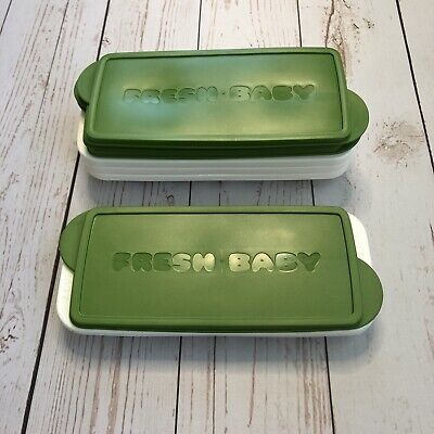Set Of 4 Fresh Baby Frozen Food Storage Containers