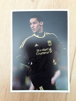 Tom Ince Liverpool  Genuine  Hand Signed 7x5 bordered photo Autograph