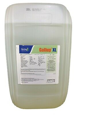 20L GALLUP XL PROFESSIONAL STRENGTH GLYPHOSATE 360g/L TOTAL WEED KILLER