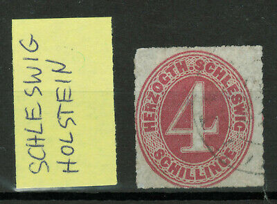 Old Germany Stamps - Schleswig Holstein - 1 Stamp