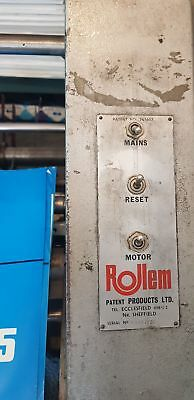 Rollem Auto 4 Numbering, Perforating and Scoring Machine