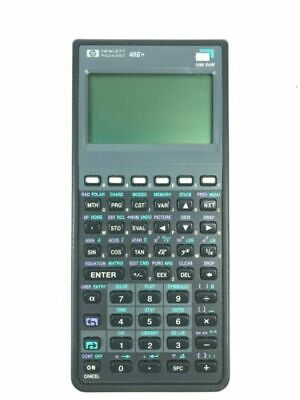 HP 48G+ Plus Graphing Calculator LCD with Soft Case