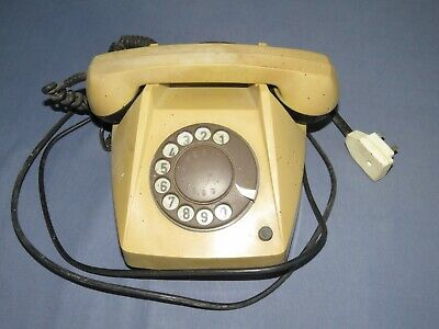 Telephone - Retro Vintage Style Desk Phone - Working Rotary Dial