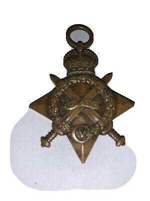 Antique WWI 1914-15 British Mons Star WAR CAMPAIGN Military Service Named Medal