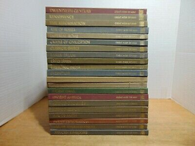 Time-Life Great Ages Of Man Complete 21 Volume Set