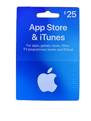 Apple Appstore and iTunes 25 Pound Gift Card