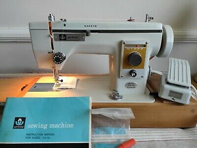Vintage Winfield (Janome) FW161 Heavy Duty Zig Zag Sewing Machine. Serviced.