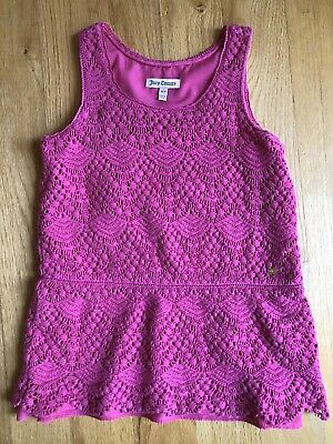 Juicy Couture Girls Pink Top Size 6/7