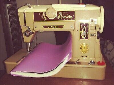 Singer Sewing Machine 401A Zig Zag & More Decorative Stitches NO CORD PARTS ONLY