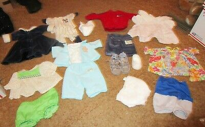 Awesome Lot Of Cpk Clothes And Infant Clothing. Baby Shoes! Play Along Set!
