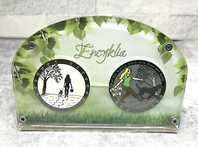 Encyklia Geocoin im Collector plus N/T - inaktiv - Geocaching