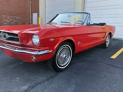 1965 Ford Mustang 2 door 1965 Ford Mustang Convertible factory 289 c.i