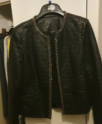 Girls Black  Bomber Jacket age 14 years from Candy Couture