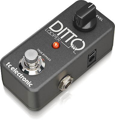 TC Electronic Ditto Looper Pedal with 5 Minutes of Looping Time + Warranty