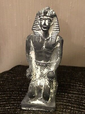 Rare Ancient Egyptian Stone Seated Thutmose II Statue ( 1493 to 1479 BC)