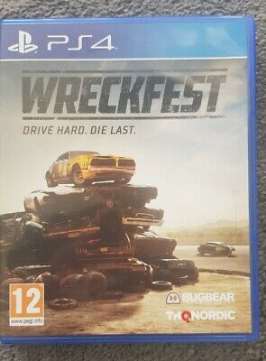 Wreckfest Sony Playstation PS4 Game