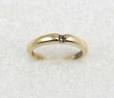Investment Gold - Scrap 10k Yellow Gold Ring Setting  - 2 Grams