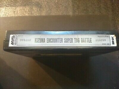 SNK Neo Geo MVS Kizuna Encounter Super Tag Battle, super Condition 100% Working