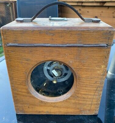 """Antique """"Toulet Excelsior"""" Pigeon Racing Timer Clock Recorder by Toule Emperator"""