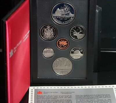2009 Specimen Set of Canadian Coinage 7 Coin with Box and COA
