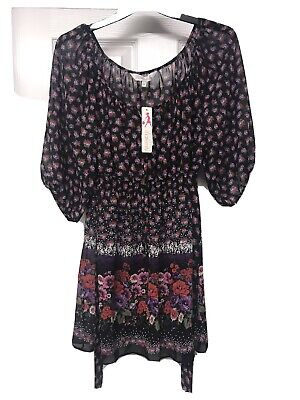 Lovely Ladies Maternity Summer Top Red Herring Size 16 BNWT