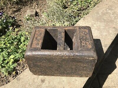 56lb Weight Cast Iron, Measuring, Weighing, Weight Lifting Working Out Excellent