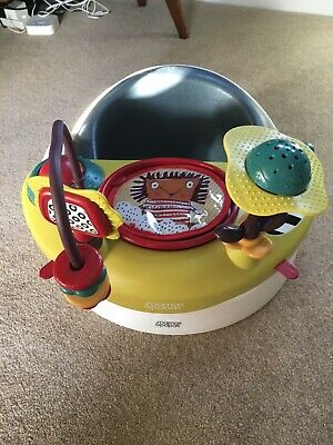 Mamas & Papas Baby Seat Bumbo With Tray And Activity Centre- Great Condition