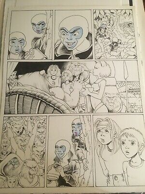 Unseen Sno Book Page 24 Art by Barry Blair 11x17
