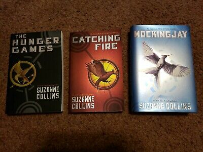 The Hunger Games Set Mixed Book Lot Like New!