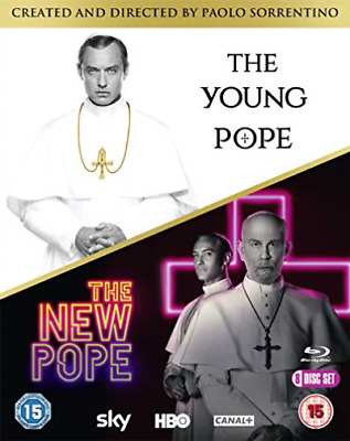 The Young Pope & The New Pope Bd Blu-Ray Nuovo