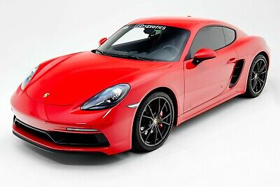 2019 Porsche Cayman GTS ONE OWNER - Factory Warranty - Clear Bra Protection
