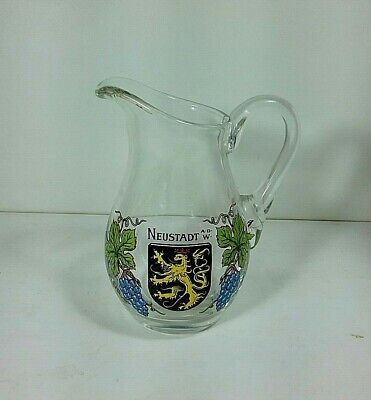 Neustadt Small Souvenir Pitcher ~ Germany