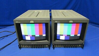 "Sony PVM-8045Q 8"" Portable Analog Color Monitors (Pair)"