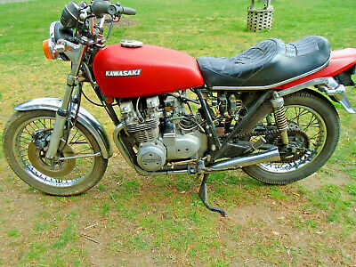 1977 Kawasaki K Z 650 B  1977 KZ650 - For parts no title
