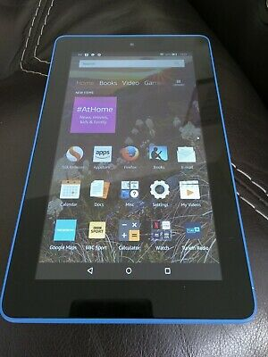 Amazon Kindle Fire 7inch (5th Gen) - Blue. Used, in good condition