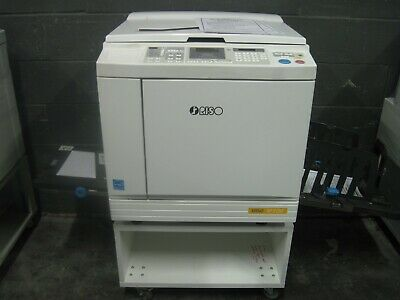 Riso SF5130 High Speed Digital Duplicator NETWORKED Low Meter EXCELLENT PRINTS