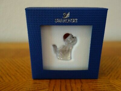 Swarovski - Christmas Cat with Santa Hat #5060448
