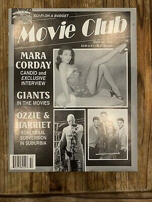 MOVIE CLUB #5 magazine - 1995 - Mara Corday interview, John Abbott interview