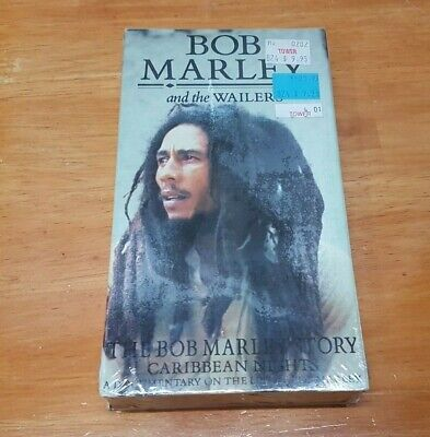 Bob Marley And The Wailers Caribbean Nights Documentary Film Vhs Video Sealed
