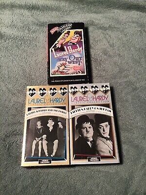 Laurel and Hardy VHS Lot